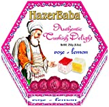 Hazer Baba Rose Lemon Turkish Delight Sweets 250 g