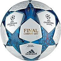 Adidas Finale CDF Omb Balón de Fútbol, Hombre, (Blanco/Azumis / Turque), 5