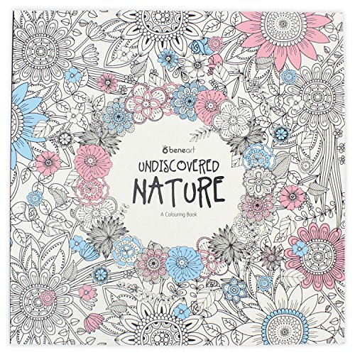 Erwachsene: Undiscovered Nature Entdecke Die Natur - Ausmalbücher - Malvorlagen - Florale Bilder zum Ausmalen (Erwachsene Malvorlagen)