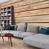 murando - Fototapete Holzoptik 500x280 cm - Vlies Tapete -Moderne Wanddeko - Design Tapete - Holz Bretter f-A-0459-a-b