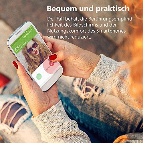 EGO® Double Touch Case komplette TPU Silikon Hülle für iPhone 4 4S, Motiv 1 Baum 360 ° Grad vorne hinten Beidseitiger Schutz Full Handy Tasche transparent Front Back doppelseitig Motiv 4
