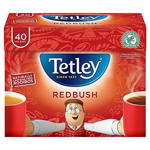 A photograph of Tetley redbush
