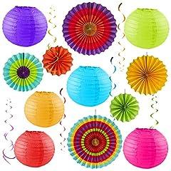 Idea Regalo - Sterling James Co. Confezione Festa Colorata - Decorazioni di Compleanno - Fiesta all'Aperto - Cinco De Mayo - Baby Shower - Nozze - Addio al nubilato - Supporti per Foto