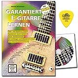 Garantiert E-Gitarre lernen : E-Gitarreschule von Bernd Brümmer mit DVD und Dunlop PLEK - Mit über 300 Licks, Riffs und ÜbungenMit über 300 Licks, Riffs, Übungen und Internet-Unterstützung