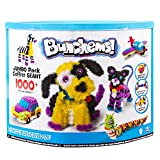 Squish, connect and create with Bunchems! the colourful little balls that stick to each other and build like no other. Build a puppy, airplane, monkey, or giraffe with the included guide book in the Bunchems jumbo pack. Or get creative and build your...