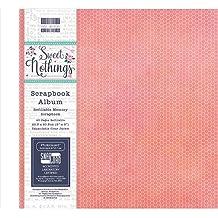 """First Edition 12x 12bloc de papel FSC, papel, Varios Colores, 8x8"""" Scrapbook Album"""