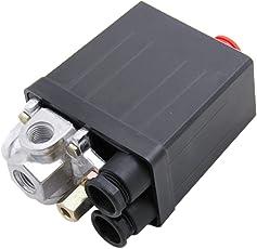 Generic PZIN14001864 Imported Air Compressor Pressure Switch Control Valve 90-120 Psi 240V