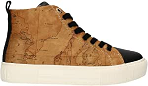 ALVIERO MARTINI Scarpe da Donna 1 Classe 10694 Sneakers Geo Casual Platform Alte