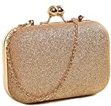 Tooba Women's Clutch (Sparkling Gold)