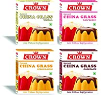 Milk Jelly China Grass Raspberry 80g