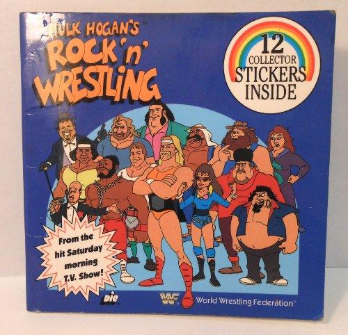 Rock Wrestling N (Hulk Hogan's Rock N Wrestling/Sticker Book)