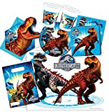 'Procos 10115646 – Set di accessori per feste 'Jurassic World, M