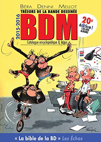 Trésors de la bande dessinée BDM 2015-2016
