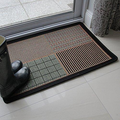 alfombra-estilo-patchwork-verde-naranja-quemado-antideslizante-resistente-tejido-plano-9-tamanos