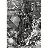 Albrecht Dürer - Melencolia I, La Melancolía, 1514, N/B, 2 Partes Fotomural Autoadhesivo (250 x 180cm)