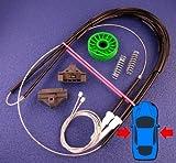 Ford Mondeo Set para reparación de regulador de ventana eléctrico - ventana en la parte delantera lado derecho o izquierdo eléctrico para ambos lados pasajero ventana - (cables, carrete, cierres) - de la!