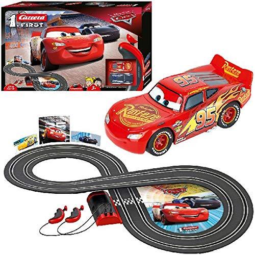 Carrera- Disney-Pixar Cars Juego con Coches, Multicolor, Talla Única (Stadlbauer 1) 3
