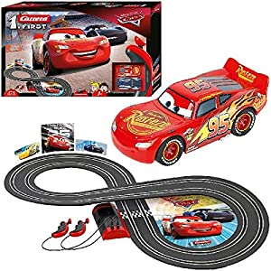 Carrera- Disney-Pixar Cars Juego con Coches, Multicolor, Talla Única (Stadlbauer 1)