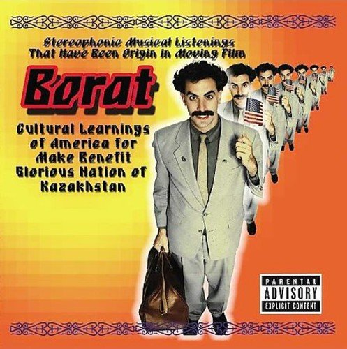 Click for larger image of Borat [Explicit Lyrics] [Soundtrack]