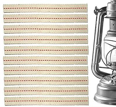 10x Ersatz Docht Baumwolle, passend Feuerhand Sturmlaterne Lampe 275 + 276 u.a. von petroleumlaterne.com auf Outdoor Shop
