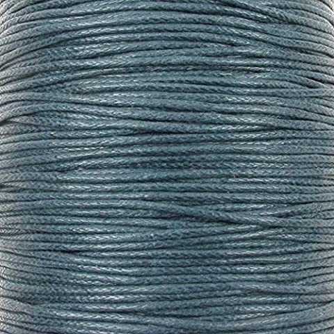 0.6mm Waxed Cotton Cord Thread Shamballa Macrame Jewellery - Montana - 10 metres