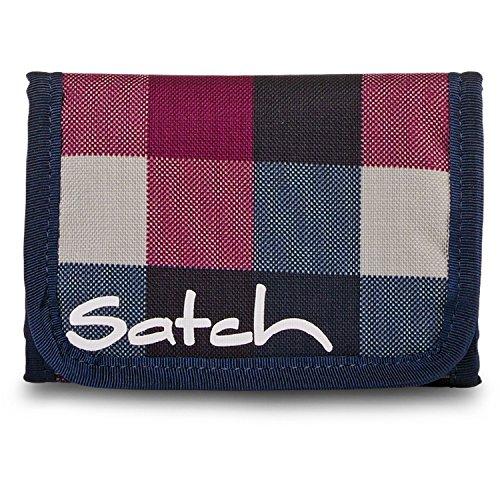 Satch rimbalzo Münzbörse SAT-WAL 001-801, 13 cm, 1 L, Nero Berry Carry (Colorato)