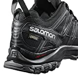 Salomon Herren XA Pro 3D GTX Trailrunning-Schuhe, Schwarz (Black/Black/Magnet), Gr. 45 1/3 - 8
