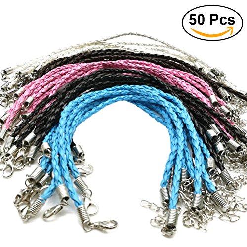d Schnur geflochtene Seile für Handgelenk mit Hummer Haken Armband Schnur für Schmucksache Herstellung (Seil-armband-herstellung)
