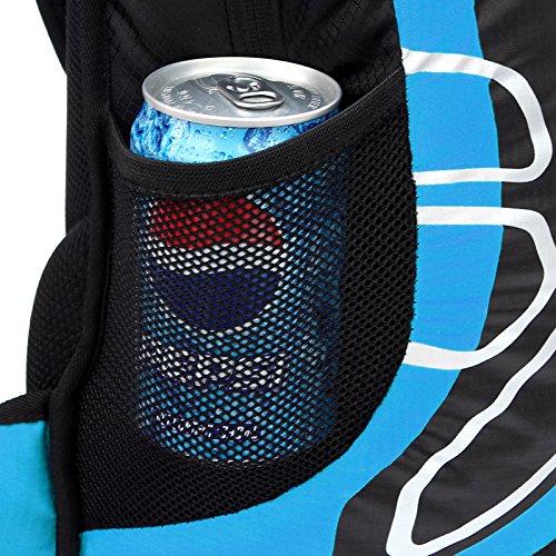 Cuckoo 12L Unisex Nylon Wasserdicht Radfahren Wandern Reise Rucksack Leichtes Outdoor Camping Bike Small Daypack Marine