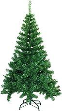 SAILUN 60cm/90cm/120cm/150cm/180cm/210cm/240cm künstlicher Weihnachtsbaum Christbaum Tannenbaum mit Metallständer, Minutenschneller Aufbau mit Klappsystem