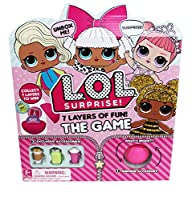 The #1 collectible, L.O.L. Surprise! is now a board game featuring loads of surprises, including unique gameplay and exclusive accessories that work with your L.O.L Surprise dolls. Which of your favourite L.O.L. Babies will you be in this gam...