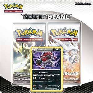 Asmodee - 2PACK01BW - Jeu de cartes à jouer et à collectionner - Duo Pack Pokémon - Noir & Blanc