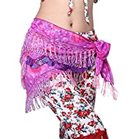 Triangle Shimmy Coin Belly Dancing Wrap anca Scarves Cinturas