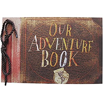Our Adventure Book Pixar Up Handmade Diy Family Scrapbook Wedding
