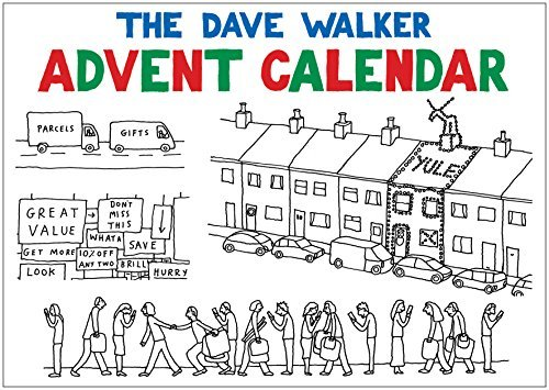 The Dave Walker Advent Calendar by Dave Walker (2014-10-31)