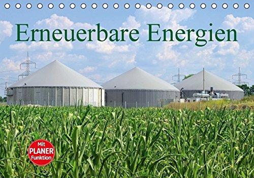 Erneuerbare Energien (Tischkalender 2016 DIN A5 quer): Wasserkraft, Solarenergie, Bioenergie, Windenergie (Geburtstagskalender, 14 Seiten ) (CALVENDO Technologie)