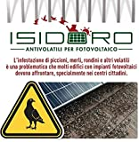 Peigne inox pour système anti pigeons universel photovoltaïque marque Isidoro garantie 25ans...