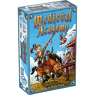 Blue Cocker Card Game – Medieval Academy