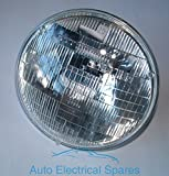 """7"""" 12v sealed beam 7014 HEADLAMP RHD + PILOT for CLASSIC CAR / MOTORCYCLE - Auto Electrical Spares - amazon.co.uk"""