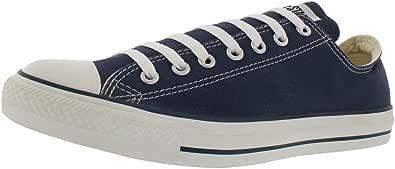 Converse - Chaussures Chuck Taylor All Star bicolore en toile Ox noir/bleu