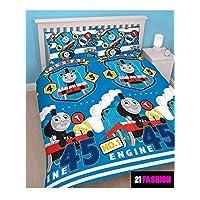 Children Thomas The Tank Engine Patch Train Double Rotary Duvet Bedding Set