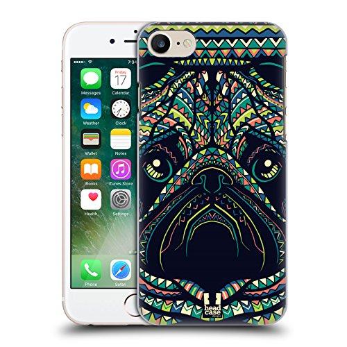 Head Case Designs Wolf Aztekische Tiergesichter 3 Ruckseite Hülle für Apple iPhone 6 / 6s Mops