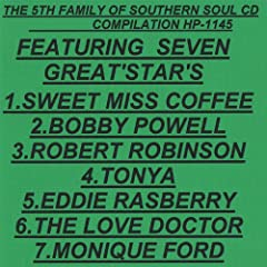 The 5th Family of Southern Soul Cd Compilation