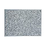 Granitfeld mit Edelstahlrahmen Einbau Granitplatte 510