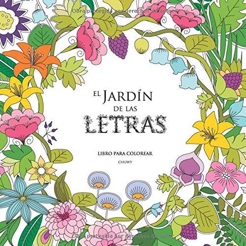 El Jardín de las Letras: Libro para colorear