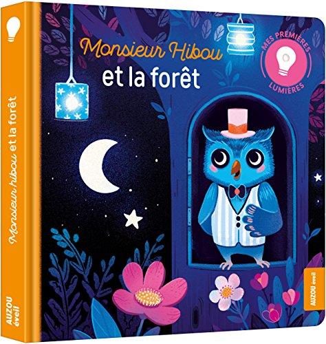 Mes premiers livres lumière - Monsieur hibou par Christelle Chatel