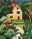 Gabriele Münter 2019: Kunstkalender mit Werken der Künstlerin Gabriele Münter. Großer Wandkalender mit Bildern aus dem Expressionismus. Format: 45,5 x 55 cm, Foliendeckblatt