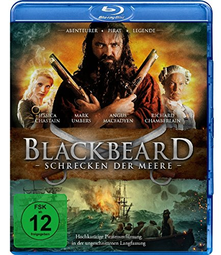 Blackbeard - Schrecken der Meere - Ungeschnittene Langfassung [Blu-ray]