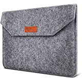 "SAVFY® 13.3 Pulgadas Funda Blanda Fieltro de Lana Bolsa para Macbook Air / Macbook Pro PC Portátil de 13,3 "" Gris"