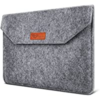 SAVFY 13.3 Pulgadas Funda Blanda Fieltro de Lana Bolsa para Macbook Air Macbook Pro PC Portátil de 1
